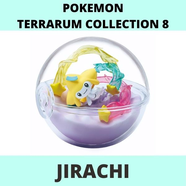 Mô hình Pokemon Terrarium Collection 8 Re-Ment Jirachi