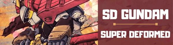 Mô hình SD gundam Super Deformed chính hãng Bandai Shop Gundam HCM