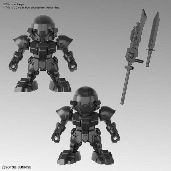Mô hình SD Gundam Tam quốc BUG & Bu Dui Bing Quân Lính giá rẻ
