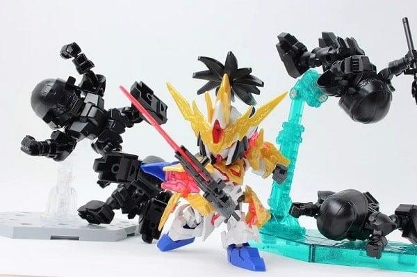 Mô hình SD Gundam Tam quốc BUG & Bu Dui Bing Quân Lính nShop Gunpla
