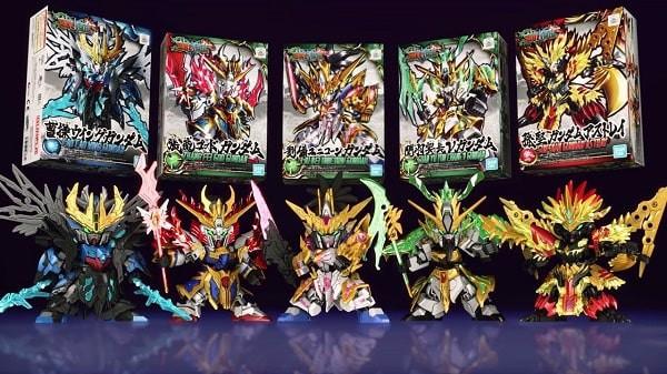 Mô hình SD Gundam Tam Quốc Chí Mới nhất