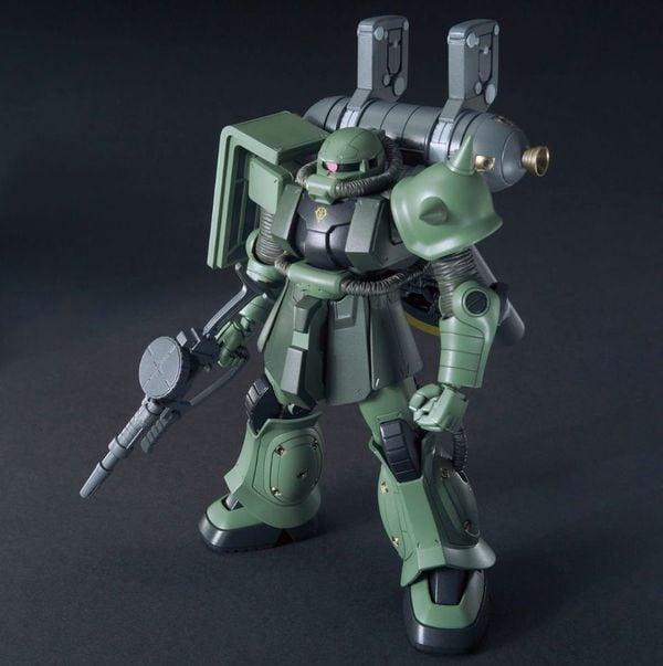 mô hình Zaku II Big Gun Set Gundam Thunderbolt Anime Ver HG Nhật Bản