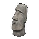 Moai Statue trong Animal Crossing New Horizons