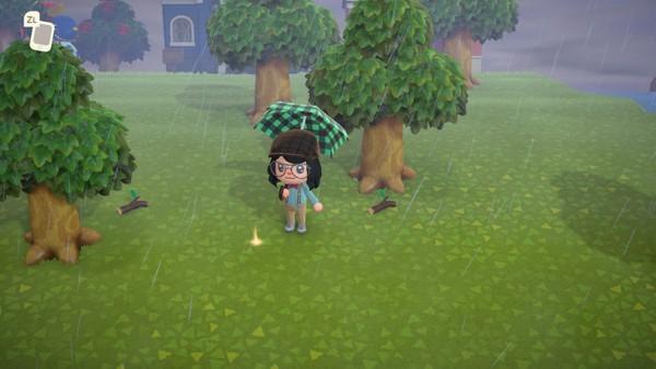Money Tree trong Animal Crossing New Horizons