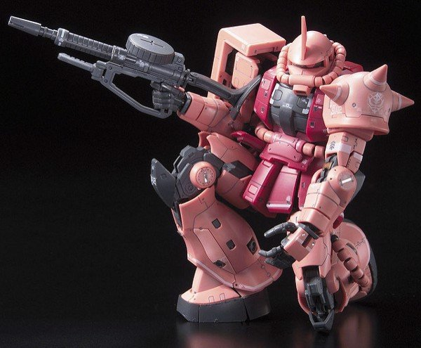 MS 06S ZAKU II CHAR AZNABLE CUSTOM MOBILE SUIT RG  1144 nshop vietnam