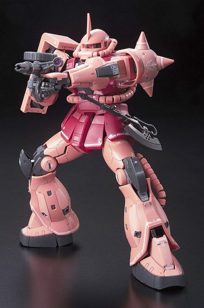 MS 06S ZAKU II CHAR AZNABLE CUSTOM MOBILE SUIT RG  1144 shop vietnam