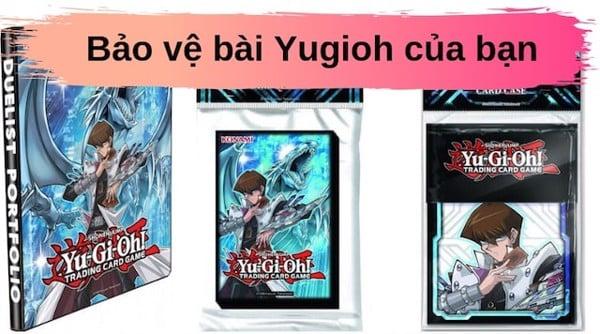 mua bài Yugioh nên bảo vệ bằng Sleeves bọc bài
