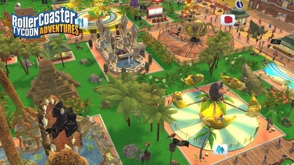 mua bán game RollerCoaster Tycoon Adventures Nintendo Switch giá rẻ
