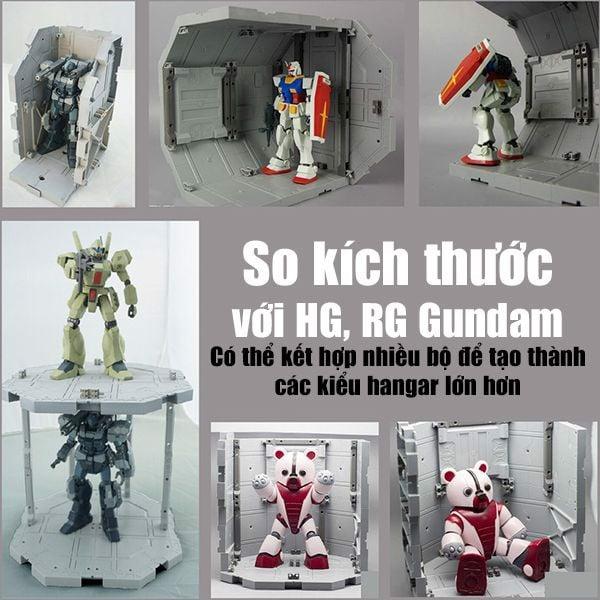 mua bán Hangar Octagon Base SD HG RG MG Gundam giá rẻ