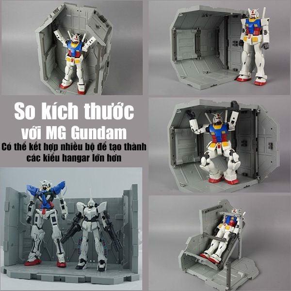 mua bán Hangar Octagon Base SD HG RG MG Gundam tại Việt Nam
