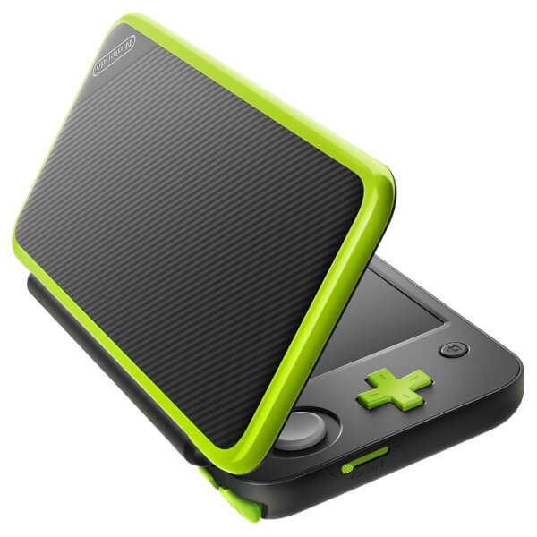 mua game New Nintendo 2DS LL Black Lime Green