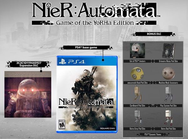 mua game NieR Automata Game of the YoRHa Edition
