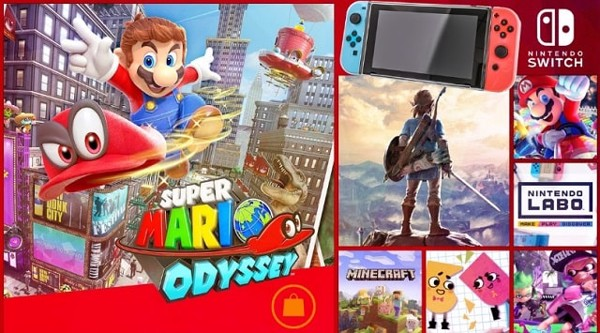 mua game Nintendo Switch hay nhất 2019
