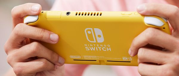mua game Nintendo Switch Lite Yellow tại Việt Nam