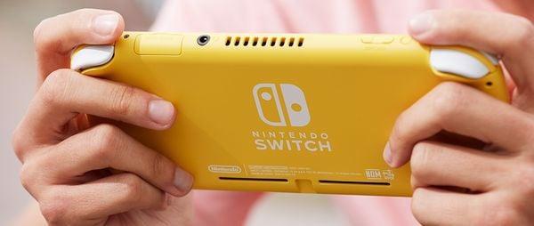 mua game Nintendo Switch Lite Yellow tại Việt Nam