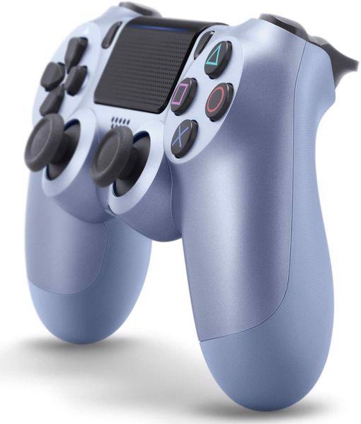 mua game phụ kiện tay cầm DualShock 4 Titanium Blue PS4