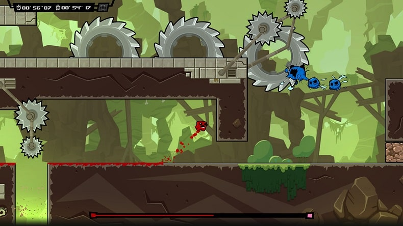 mua game Super Meat Boy Forever ps5