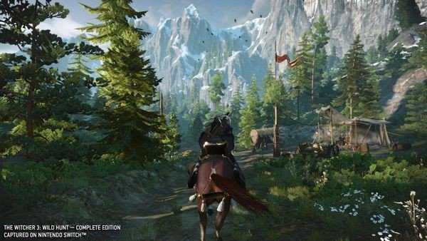 mua game The Witcher 3 Wild Hunt cho Nintendo Switch giá rẻ