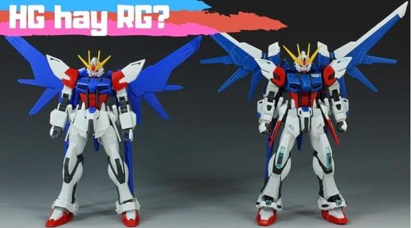 Mua Gundam HG hay RG