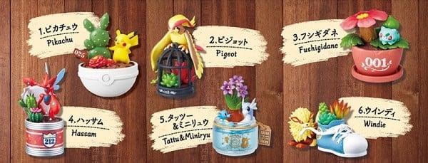 Mua mô hình Pokemon Botanical Re-Ment chính hãng giá rẻ