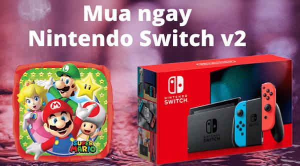 mua nintendo switch v2 2020