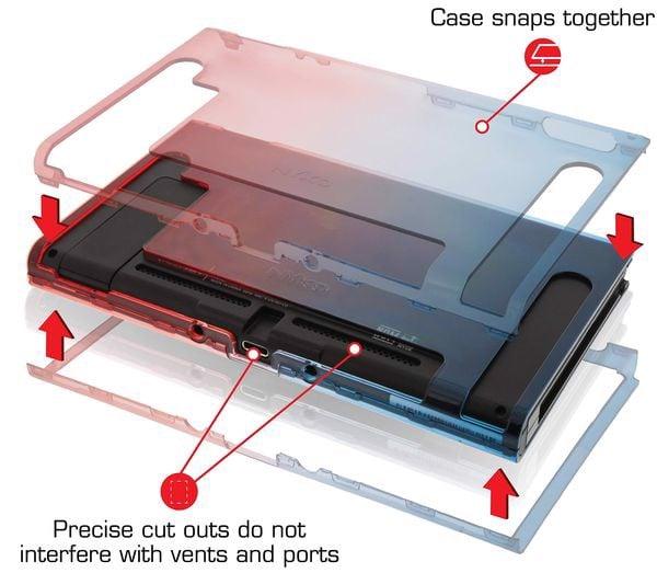 mua Ốp lưng silicon Nyko Thin Case cho Nintendo Switch tốt nhất