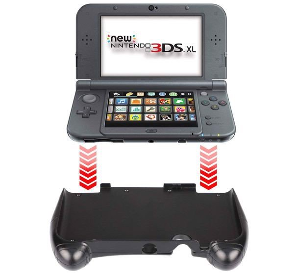 mua phụ kiện game Hand Grip New Nintendo 3DS XL LL