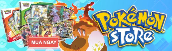Mua thẻ bài đồ chơi mô hình Pokemon chính hãng