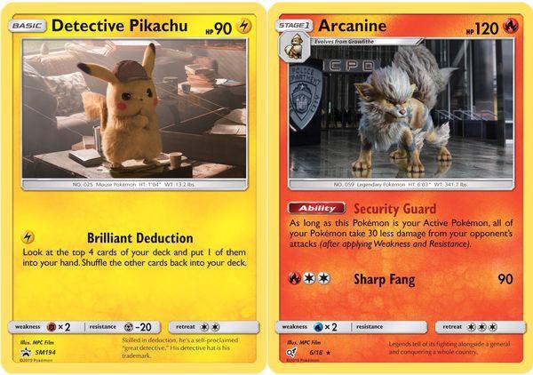 mua thẻ bài Pokemon Detective Pikachu Case File real