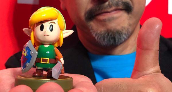 muagame Link amiibo Zelda Link