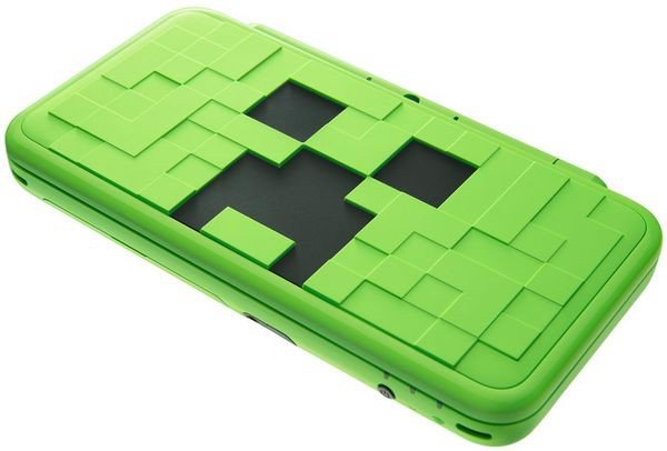 muagame New Nintendo 2DS LL Minecraft Creeper Edition