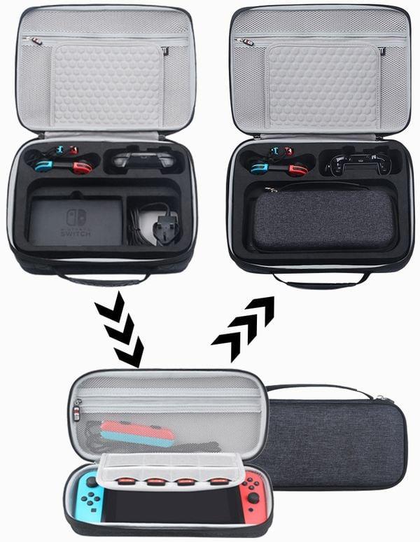 muagame phụ kiện Vali BUBM 2 trong 1 Nintendo Switch