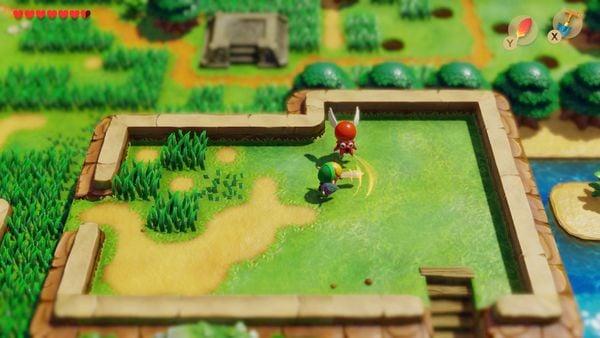 muagame The Legend of Zelda Link