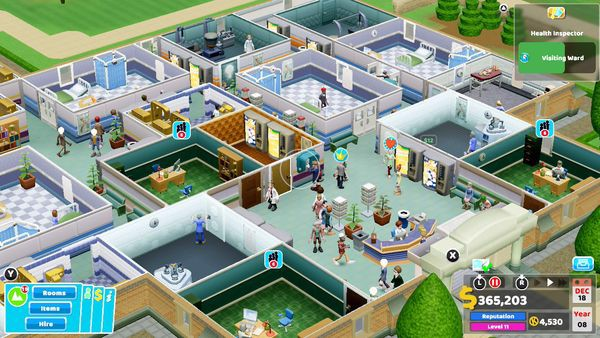 muagame Two Point Hospital Nintendo Switch giá rẻ