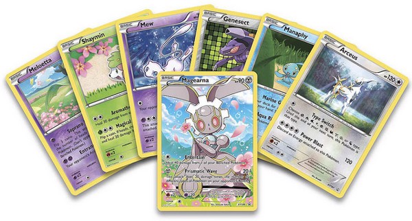 MYTHICAL POKEMON COLLECTION  MAGEARNA POKEMON TRADING CARD GAME