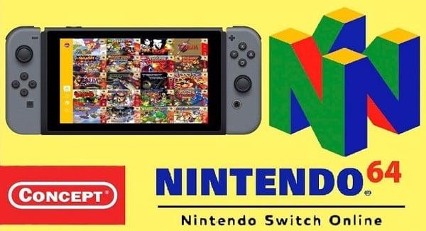 n64 nintendo switch online