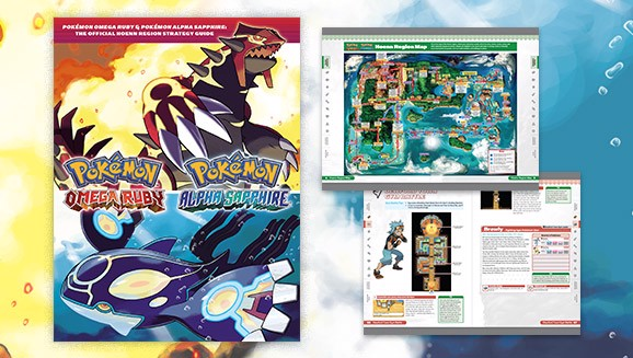 Pokémon Omega Ruby & Pokémon Alpha Sapphire The Official Hoenn Region Strategy Guide shop vietnam