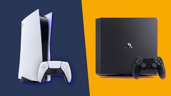 Nâng cấp PS4 lên PS5