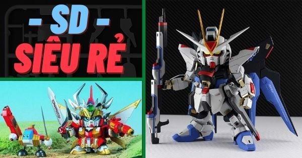Nên mua Gundam nào giá rẻ