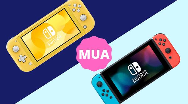 nên mua Nintendo Switch - Switch Lite 2020