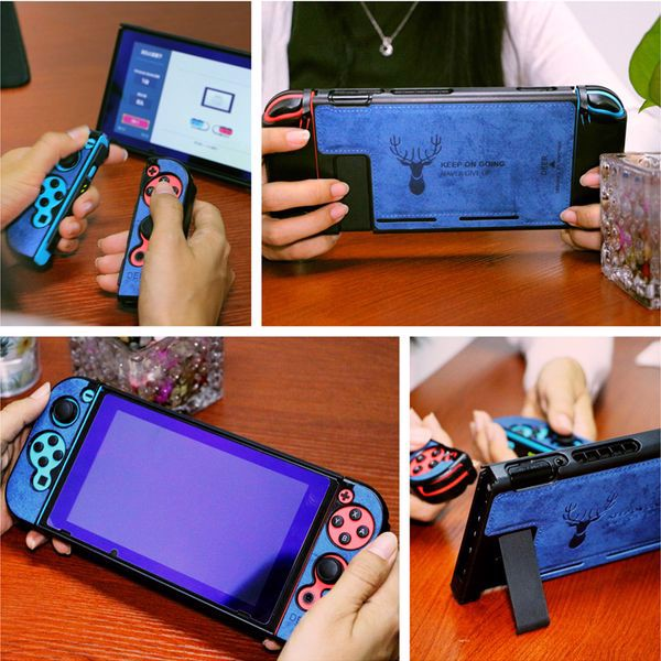 ốp lưng Nintendo Switch The Alley Phụ kiện cao cấp bảo vệ Joycon chất lượng