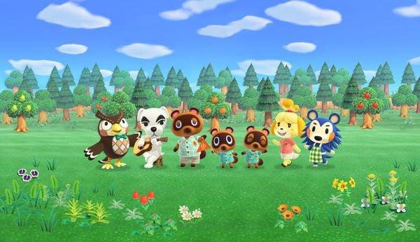 nhân vật Animal Crossing New Horizons
