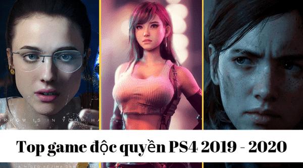 Những game độc quyền trên PS4 2020