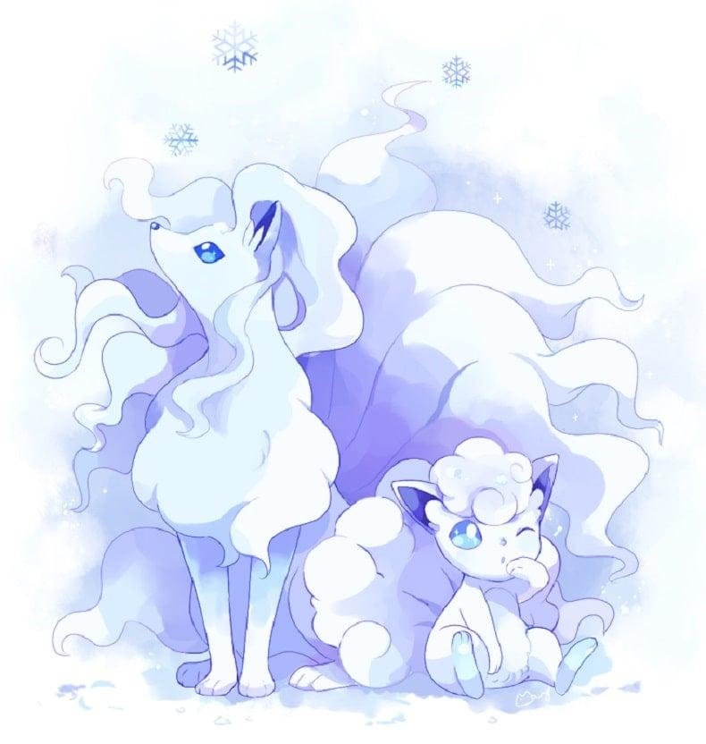 Những Pokemon đẹp nhất Alola Ninetales
