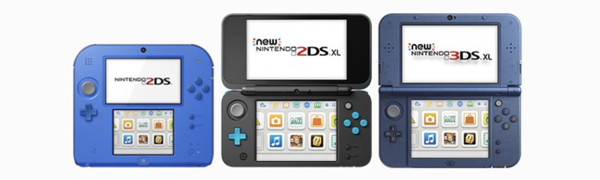 Máy game 2DS, New 2DS XL, New 3DS XL