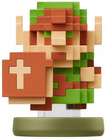 Nintendo 8 Bit Link The Legend of Zelda amiibo