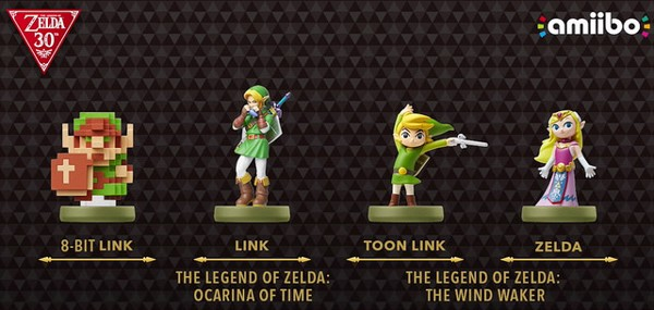 Nintendo 8 Bit Link The Legend of Zelda amiibo nshop