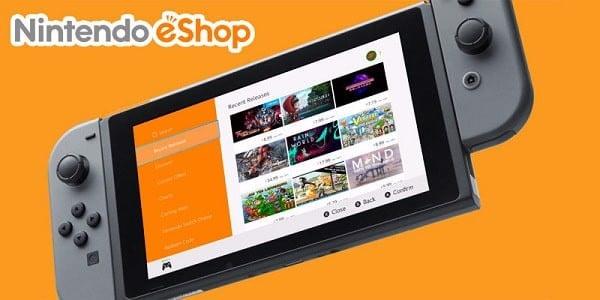 Nintendo eShop Switch mua game doc quyen