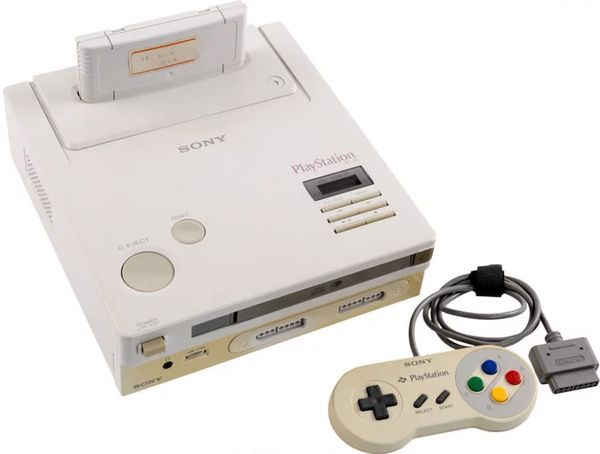 nintendo playstation SNES 1991