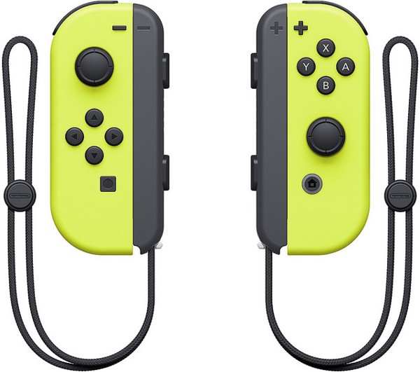 Nintendo Switch Joy-Con Controller Set Neon Yellow
